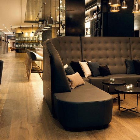 Lounge at the Löwen Hotel