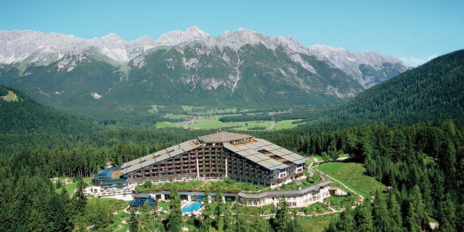 View of the Interalpen Hotel Tyrol